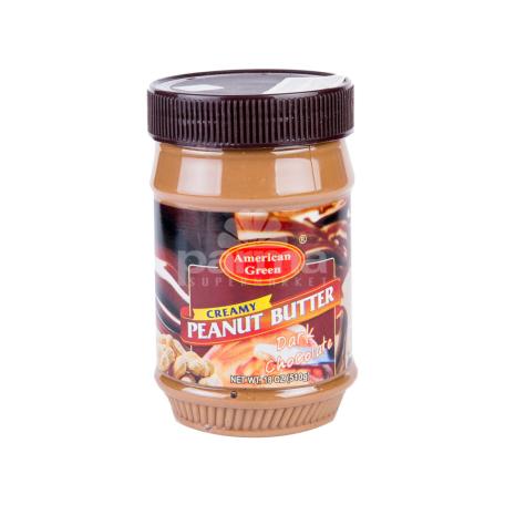 Կարագ-կրեմ գետնանուշի «American Green Creamy Peanut Butter» 510գ