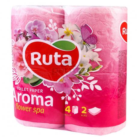 Զուգարանի թուղթ «Ruta Aroma» գարնանային գույն