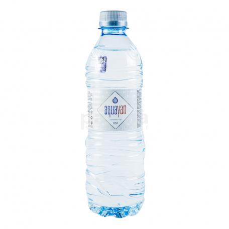 Աղբյուրի ջուր «Ակվայան» 500մլ