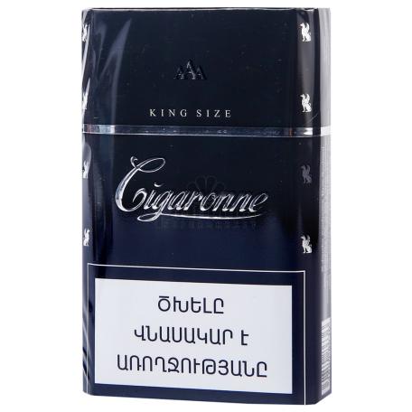 Ծխախոտ «Cigaronne King Size Black»