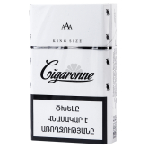Ծխախոտ «Cigaronne King Size White»