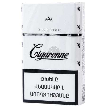 Ծխախոտ «Cigaronne King Size White»