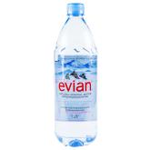 Աղբյուրի ջուր «Evian» 1լ