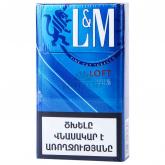 Ծխախոտ «L&M Loft Neon Blue»
