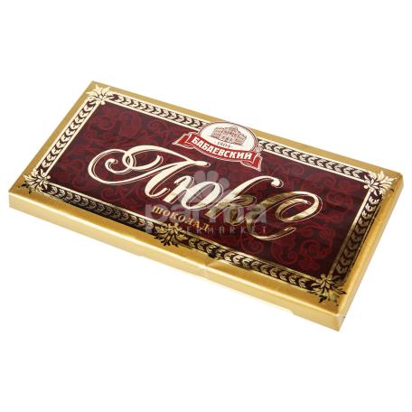 Շոկոլադե սալիկ «Бабаевский» լյուքս 100գ