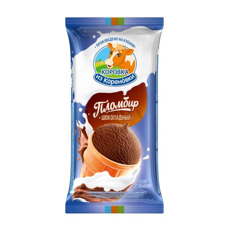 Պաղպաղակ «Коровка из Кореновки» շոկոլադ 100գ
