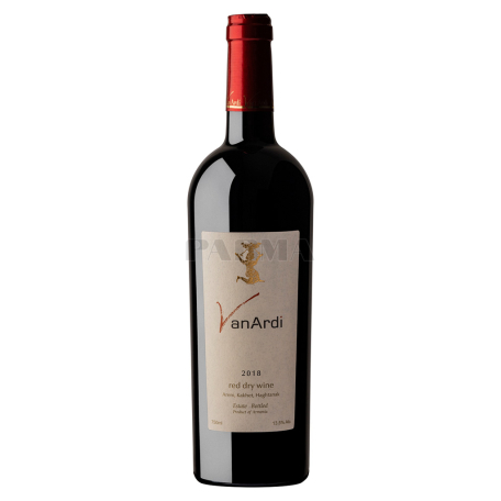 Գինի «Վան Արդի» կարմիր, չոր 750մլ