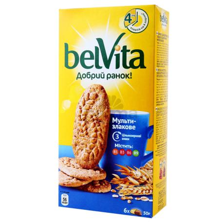 Թխվածքաբլիթ «BelVita» բազմահացահատիկային 225գ
