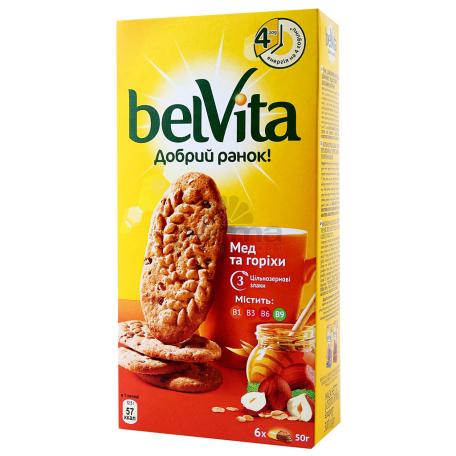 Թխվածքաբլիթ «BelVita» մեղրով և ընկույզով 225գ