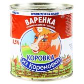 Կաթ պարունակող խտացրած մթերք «Коровка Из Кореновки» եփած 4% 370գ