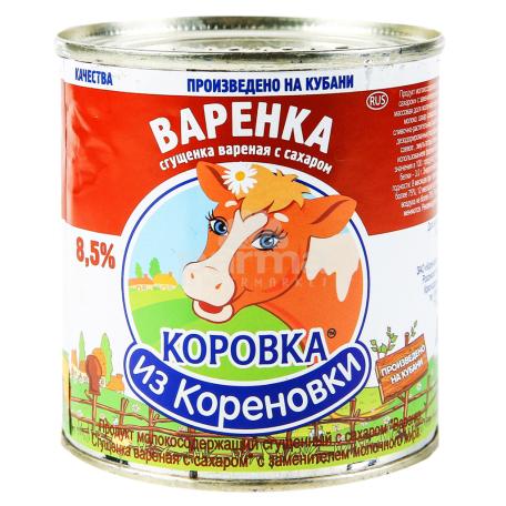Խտացրած կաթ «Коровка Из Кореновки» եփած 8․5% 370գ