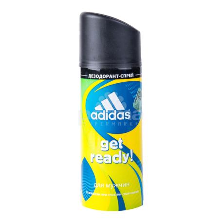 Հակաքրտինքային միջոց «Adidas Get Ready For Him» 150մլ