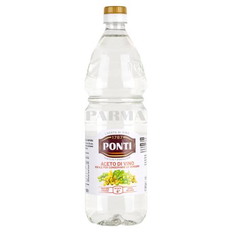 Քացախ «Ponti» գունազրկված խաղող 1լ