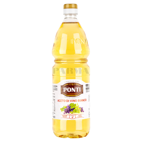 Քացախ «Ponti» սպիտակ խաղող 1լ