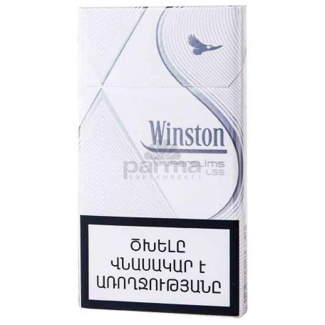 Ծխախոտ «Winston Xs Super Slims Silver»