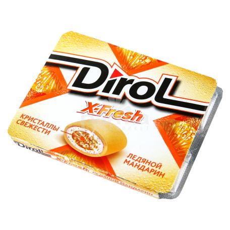 Մաստակ «Dirol x-fresh» մանդարին 16գ