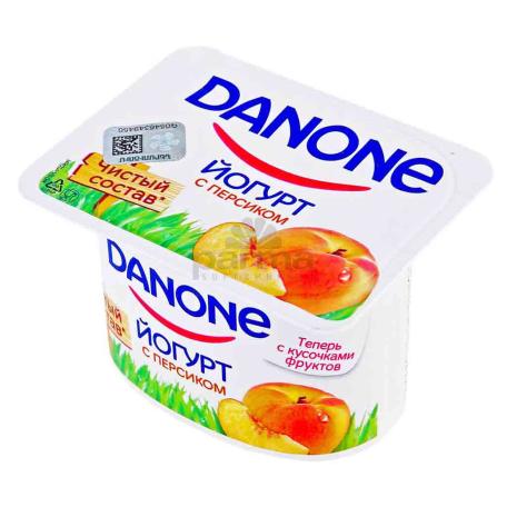 Յոգուրտ «Danone» դեղձ 2.9% 110գ