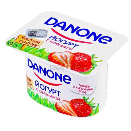 Յոգուրտ «Danone» ելակ 2.9% 110գ