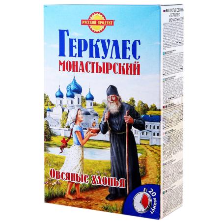 Փաթիլներ վարսակի «Геркулес Монастырский» 500գ