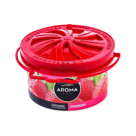 Մեքենայի բույր «Aroma Organic Strawberry» 40գ