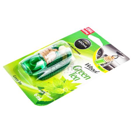 Մեքենայի բույր «Aroma Wood Green Tea» 6մլ