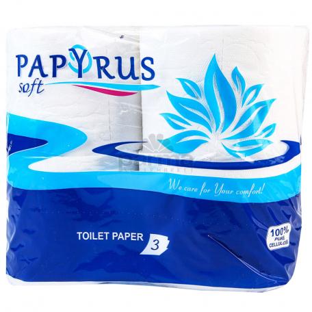 Զուգարանի թուղթ «Papyrus» 4 հատ