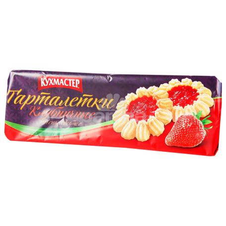 Թխվածքաբլիթներ «Кухмастер» ելակ 240գ