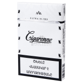 Ծխախոտ «Cigaronne Ultra Slims White»