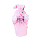 Փափուկ խաղալիք «Մանկան» ձեռնոց նապաստակ