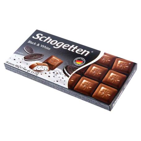 Շոկոլադե սալիկ «Schogetten» թխվածքաբլիթով 100գ