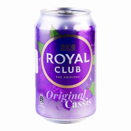 Զովացուցիչ ըմպելիք «Royal Club Original Cassis» 330մլ