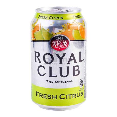 Զովացուցիչ ըմպելիք «Royal Club Fresh Citrus» 330մլ