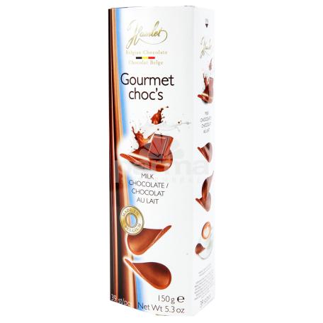 Չիպս շոկոլադապատ «Hamlet» կաթնային շոկոլադ 150գ