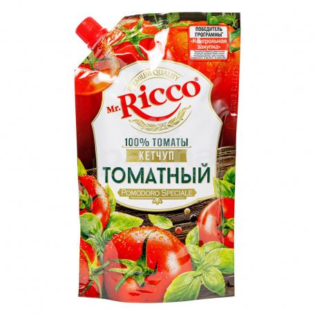 Կետչուպ «Mr. Ricco Organic» տոմատի 350գ