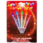 Մոմ «Happy Birthday» 5 հատ