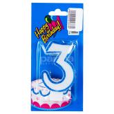 Մոմ «Happy Birthday» թիվ 3