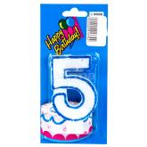 Մոմ «Happy Birthday» թիվ 5