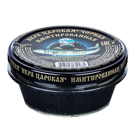 Թառափի ձկնկիթ «Лунское море» սև 105գ