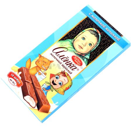 Շոկոլադե սալիկ «Аленка» կաթնային միջուկ 100գ