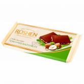 Շոկոլաե սալիկ «Roshen» պնդուկ 90գ