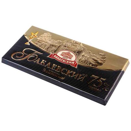 Շոկոլադե սալիկ «Бабаевский» 75% 100գ