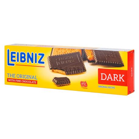 Թխվածքաբլիթ «Bahlsen Leibniz Choco Dark» 125գ