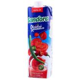 Հյութ բնական «Sandora» լոլիկ, կծու 950մլ