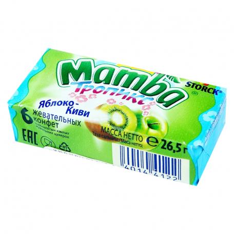 Կոնֆետ «Mamba» խնձոր, կիվի 26.5գ