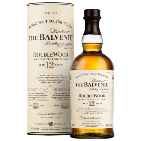 Վիսկի «The Balvenie Doublewood» 12տ 700մլ