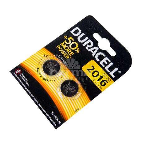 Մարտկոց «Duracell DL2016»