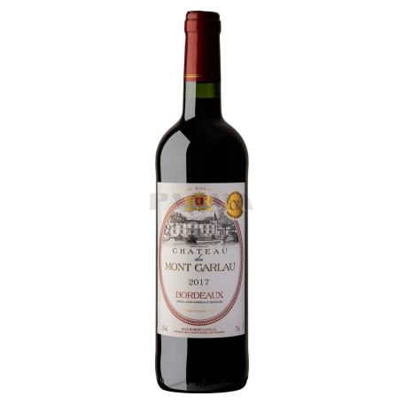 Գինի «Chateau du Mont Carlau» կարմիր, չոր 750մլ