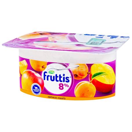 Յոգուրտ «Campina Fruttis» ծիրանով, մանգո, հատապտուղներ 8% 115գ