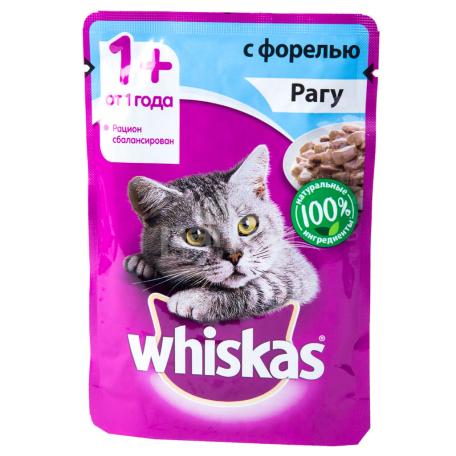 Կատվի խոնավ կեր «Whiskas» իշխան 85գ
