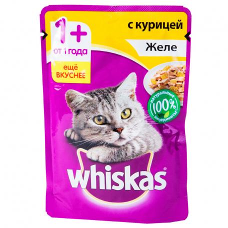 Կատվի խոնավ կեր «Whiskas» հավ 85գ